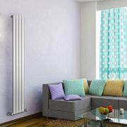 Radiateur Design Vertical Blanc Delta 178cm x 28cm x 4,7cm 658 Watts