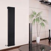 Radiateur Design Vertical Noir Savy 178cm x 35,4cm x 8cm 1043 Watts