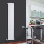 Radiateur Design Vertical Blanc Sloane 178cm x 35,4cm x 5,3cm 897 Watts