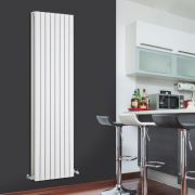 Radiateur Design Vertical Blanc Sloane 178cm x 47,2cm x 7,2cm 1931 Watts