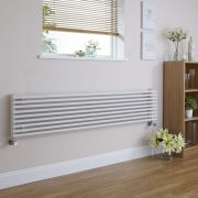 Radiateur Design Horizontal Blanc Parallel 34,2cm x 160cm x 8,4cm 1117 Watts
