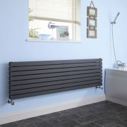 Radiateur Design Horizontal Anthracite Sloane 47,2cm x 178cm x 7,1cm 1842 Watts