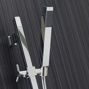Kit Douchette Rectangulaire Avec Rampe