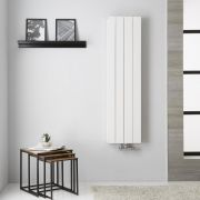 Radiateur Aluminium Blanc Kett – 140cm x 37,5cm
