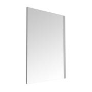 Miroir Newington - 75x100cm - Cadre Blanc Mat