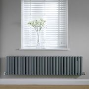 Radiateur horizontal anthracite Vitality 40 x 164.7cm 1138 watts