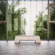 Radiateur Plinthe Blanc Adva 20 x 120 x 29,6 cm 916 watts