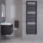 Sèche-serviettes Anthracite Design Ponza - 160cm x 50cm