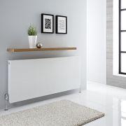 Radiateur horizontal Blanc Type 21 Merus 60 x 140cm 2305 watts