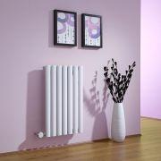 Radiateur Design Électrique Horizontal Blanc Vitality 63,5cm x 41,5cm x 5,5cm