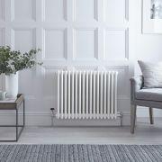 Radiateur Horizontal Style Fonte Blanc Windsor 60cm x 78,8cm x 10cm 1243 Watts