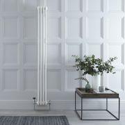 Radiateur Vertical Style Fonte Blanc Windsor 180cm x 20,3cm x 10cm 779 Watts