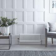 Radiateur Horizontal Style Fonte Blanc Windsor 30cm x 78,8cm x 6,8cm 541 Watts