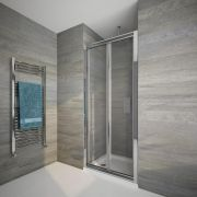 Porte de douche pliante 90cm Portland