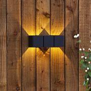 Biard Applique murale extérieur 8W Gemme Noir