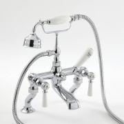 Mélangeur bain douche rétro à levier - choix de finitions - Elizabeth