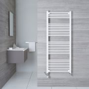 Sèche-Serviettes Mixte Blanc Etna 150cm x 50cm x 3cm 828 Watts