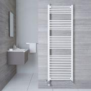 Sèche-Serviettes Mixte Blanc Etna 180cm x 60cm x 3cm 1138 Watts