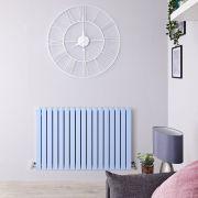 Radiateur horizontal Sloane Bleu pâle 63.5 x 100cm 1022 watts
