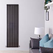 Radiateur Design Vertical Noir Delta 160cm x 49cm x 4,7cm 1026 Watts