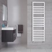 Sèche-serviettes Blanc Design Ponza - 160cm x 50cm