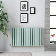 Radiateur horizontal Sloane Vert Menthe 63.5 x 100cm 1022 watts
