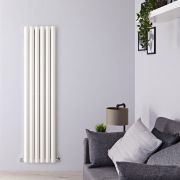 Radiateur Design Vertical Blanc Salisbury 160cm x 42cm x 8,6cm 1475 Watts
