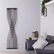 Radiateur Design Vertical Noir Xcite 177,5cm x 45cm x 11cm 925 Watts