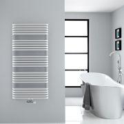 Sèche-serviettes eau chaude blanc Arch 126,9x60cm 1338 watts
