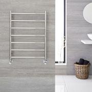 Sèche-serviettes eau chaude 60cm x 80cm - Quo chromé - 285 watts