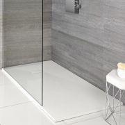 Receveur de douche blanc rectangulaire 170x90cm