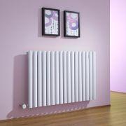 Radiateur Design Électrique Horizontal Blanc Vitality 63,5cm x 100cm x 5,5cm