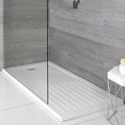 Receveur de douche rectangulaire - Zone de séchage - Choix de tailles