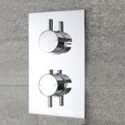 Mitigeur Douche Thermostatique Encastré Design Rond Como