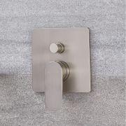 Mitigeur de douche mécanique 2 Fonctions - Harting Nickel Brossé