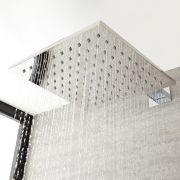Pomme de douche carrée 30x30cm