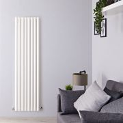 Radiateur Design Vertical Blanc Savy 178cm x 47,2cm x 8cm 1391 Watts