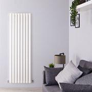 Radiateur Design Vertical Blanc Salisbury 178cm x 56cm x 6cm 1401 Watts