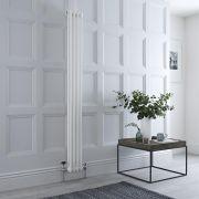 Radiateur Vertical Style Fonte Blanc Windsor 150cm x 20cm x 6,8cm 548 Watts