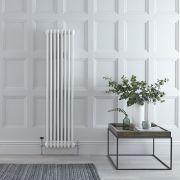 Radiateur Vertical Style Fonte Blanc Windsor 150cm x 38,3cm x 10cm 1387 Watts