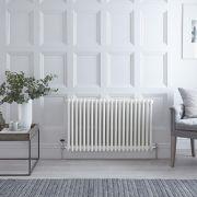 Radiateur Horizontal Style Fonte Blanc Windsor 60cm x 101cm x 10cm 1608 Watts