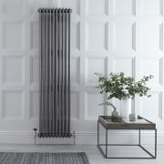 Radiateur Vertical Style Fonte Acier Brut Windsor 180cm x 47,3cm x 10cm 1948 Watts
