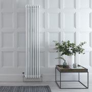 Radiateur Vertical Style Fonte Blanc Windsor 180cm x 36cm x 13,3cm 2153 Watts