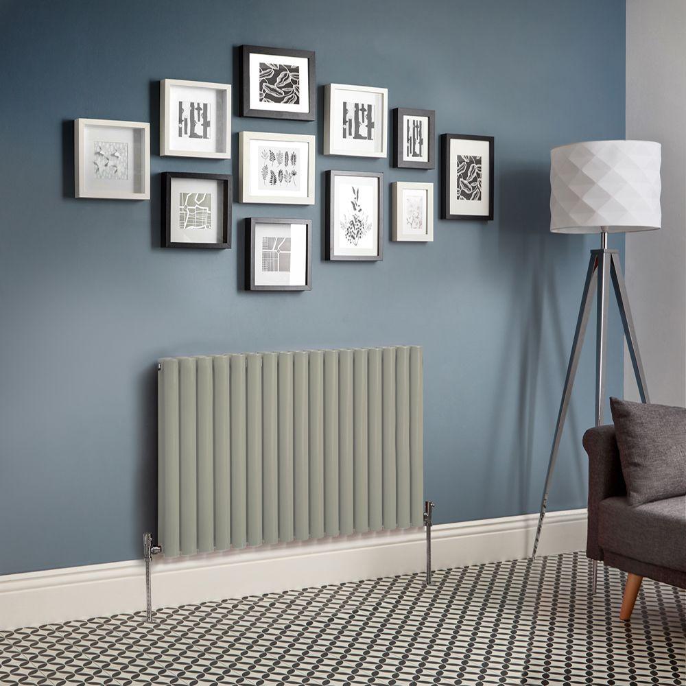 Code Couleur Vert Sauge radiateur design horizontal – vert sauge – choix de tailles - vitality