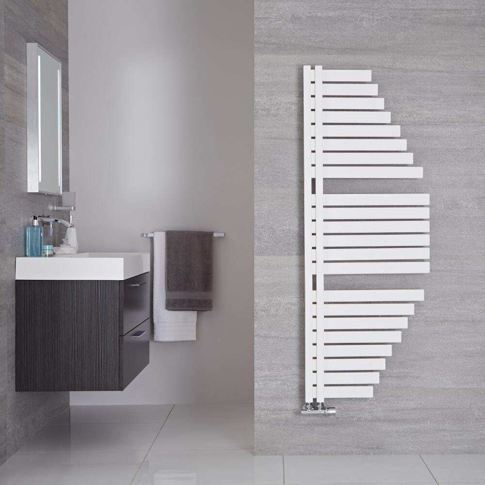 sècheserviettes design  blanc minéral  146 cm x 547 cm