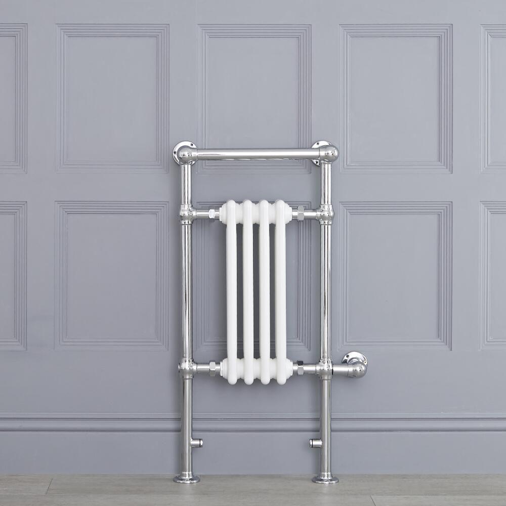 Kit conversion radiateur rail /à serviette /él/ément /électrique thermostatique chrome 400W avec minuteur