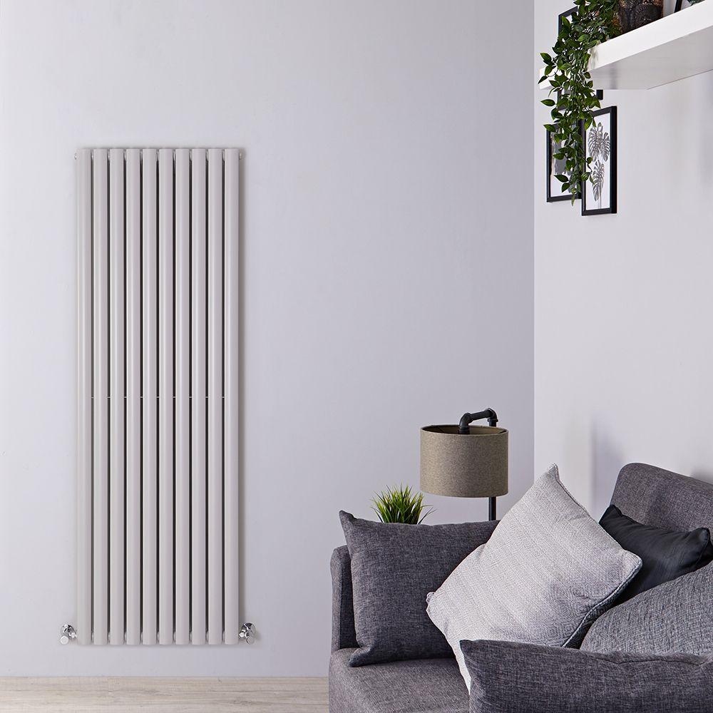 Radiateur Design Horizontal Hudson Reed Vitality Blanc 63,5 x 83,4cm Double Rang