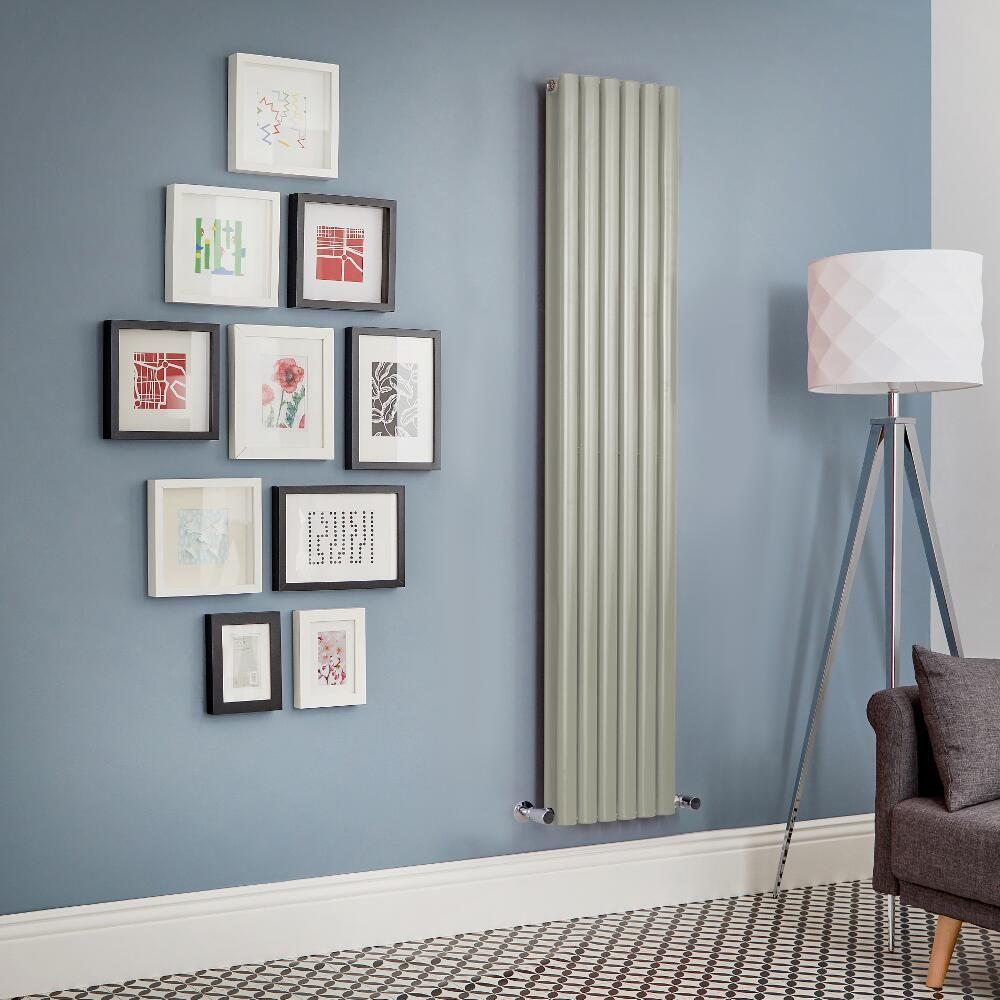 Code Couleur Vert Sauge radiateur design vertical – vert sauge – choix de tailles - vitality
