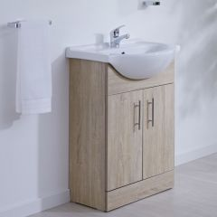 Meuble-lavabo 55x78x43cm Classic Oak