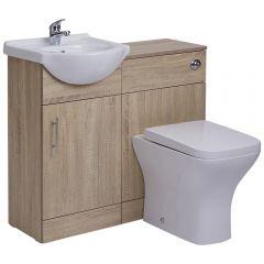 Meuble-lavabo & Toilette WC 41x78x30cm Classic Oak